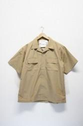 「BURLAP OUTFITTER」camp shirts -beige- (men)
