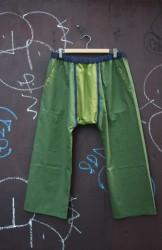 「chillt」easy pants -green- (men&lady)