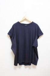 ★SALE50%OFF★「phateeWEAR」fly tee -navy- (lady)