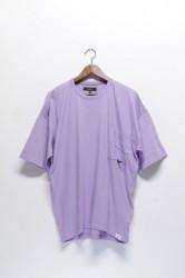 「QUOLT」shooting-nep cutsew -purple- (men&lady)