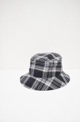 「Laugh&Be...」a.check bucket hat (men&lady)