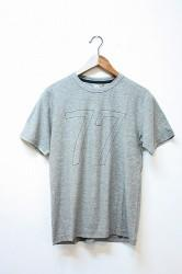 「HiHiHi」 フク Tee -杢charcoal- (mens&ladys)