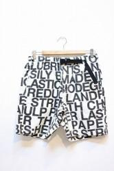 ★50%OFF★「PhateeWEAR」 Venue Shorts WIT -LETTER