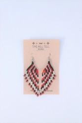 ★40%OFF「time will tell works」classic fringe pierce