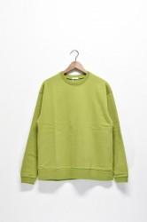 「maillot」steady cotton trainer -green- (men&lady)