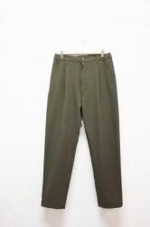 「KAFIKA」double cloth louge pants -olive-(men&lady)