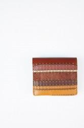 "★30%OFF★「ojagadesign」short wallet ""helga"" -brown-"