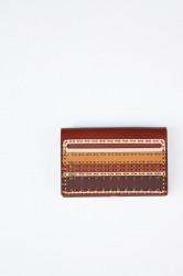 "★30%OFF★「ojagadesign」card case ""bolyai"" -brown-"