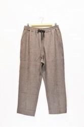 「QUOLT」smoky pants -brown- (men&lady)
