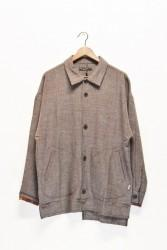 「QUOLT」smoky jacket -brown- (men&lady)