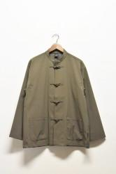 「AXESQUIN」tech kung-fu jacket -mudstone-(men&lady)