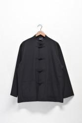 「AXESQUIN」tech kung-fu jacket -black- (men&lady)