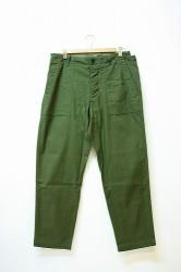 「maillot」 military cloth easy baker pants (men)