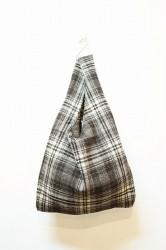 ★30%OFF★「maillot」mature wool check easy bag-check-