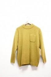 「maillot」boucle pocket sweater -gold- (lady)