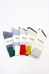"「RoToTo」 DOUBLE FACE SOCKS ""SILK&COTTON""(men&lady)"