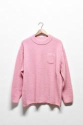 「maillot」boucle pocket sweater -pink- (men)