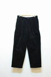 「APACHE」 corduroy trouser -black- (men)