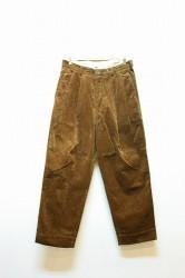 「APACHE」 corduroy trouser -brown- (men)