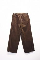 「phateeWEAR」krabi long cord -brown- (men)