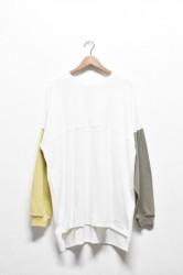 「a hope hemp」drop big football T -wht- (men&lady)