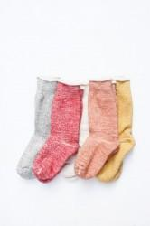 「RoToTo」double face socks (men&lady)