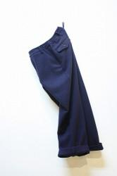 「maillot」 mature wide easy trousers (men)