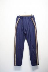 「leh」track pants -navy- (men)