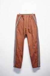 「leh」track pants -brown- (men)