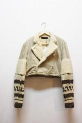 「nebulavo」military docking jacket -beige- (lady)