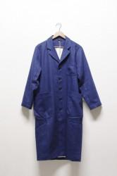 「maillot」mature indigo wool work coat (men&lady)