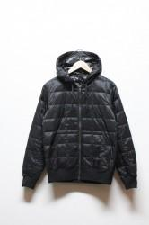 「TAION」classic hood w-zip down jacket (lady)