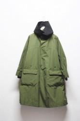 「Leh」over coat -khaki- (men&lady)