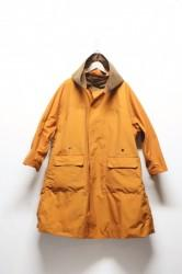 「Leh」over coat -orange- (men&lady)
