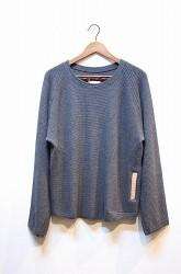 「Leh」 Pocket Thermal Top -inkblk- Mサイズ (mens&lady)