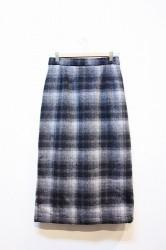 ★SALE30★ 「NEBLAVO」 CHECK TIGHT SKIRT (ladys)