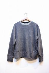 「HiHiHI」 Crewneck Sweat -charcoal- (mens)