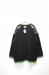 「ARIGATOFAKKYU」sweater -black- (men&lady)