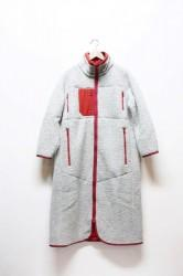 ★20%OFF★「maillot」wool boa long coat -gray-