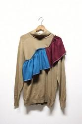 「NEBULAVO」cashmere frill tops #4 (lady)