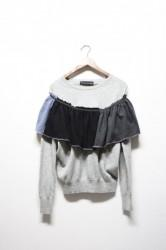 「NEBULAVO」cashmere frill tops #2 (lady)
