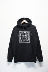 「Trevena Glen Farm」sweat parka -black-