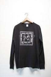 「Trevena Glen Farm」long sleeve Tee -black-
