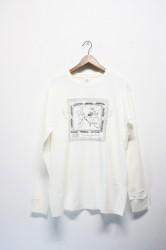 「Trevena Glen Farm」long sleeve Tee -white-