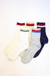 「A HOPE HEMP」 line socks (mens&ladys)