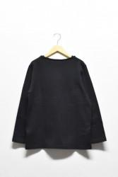 「maillot」 weekend long tee -black- (men&lady)