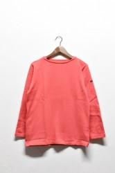 「maillot」 weekend long tee -pink red- (men&lady)