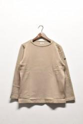 「maillot」 weekend long tee -beige- (men&lady)