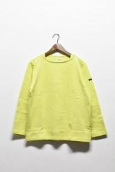 「maillot」 weekend long tee -lime- (men&lady)