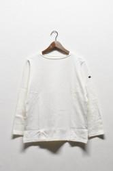 「maillot」 weekend long tee -white- (men&lady)